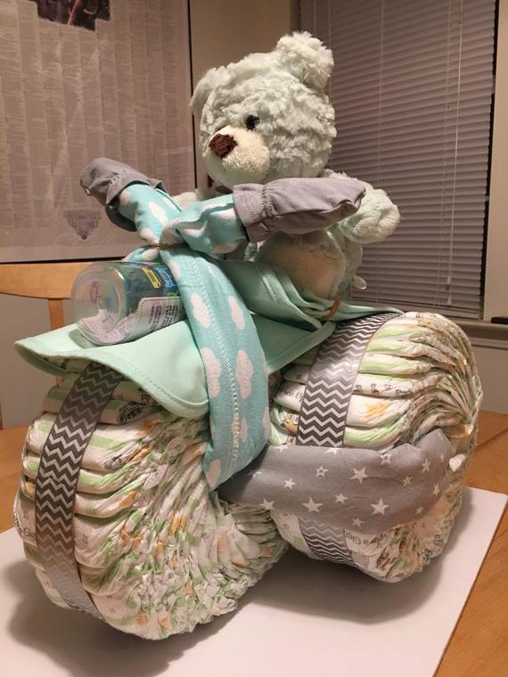 Baby Diaper Cake Trike | Etsy