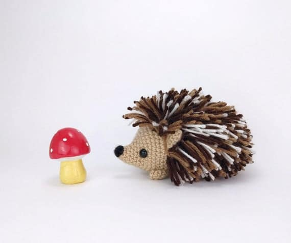 PATTERN: Heath the Hedgehog Crochet hedgehog pattern | Etsy