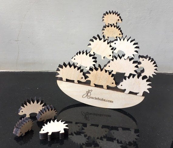 Prickly Pile Up Hedgehog Balancing Game | Etsy