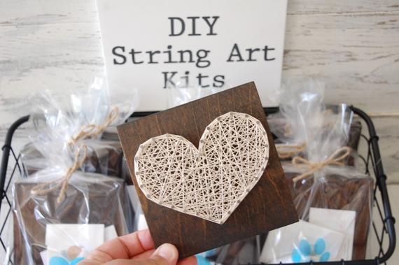 DIY HEART String Art Kits Do it yourself heart sign | Etsy