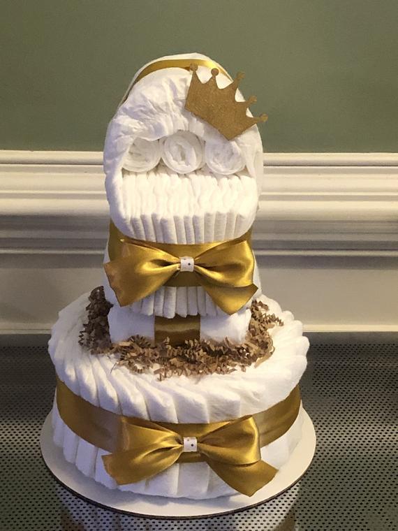 Diaper Bassinet Cake | Etsy