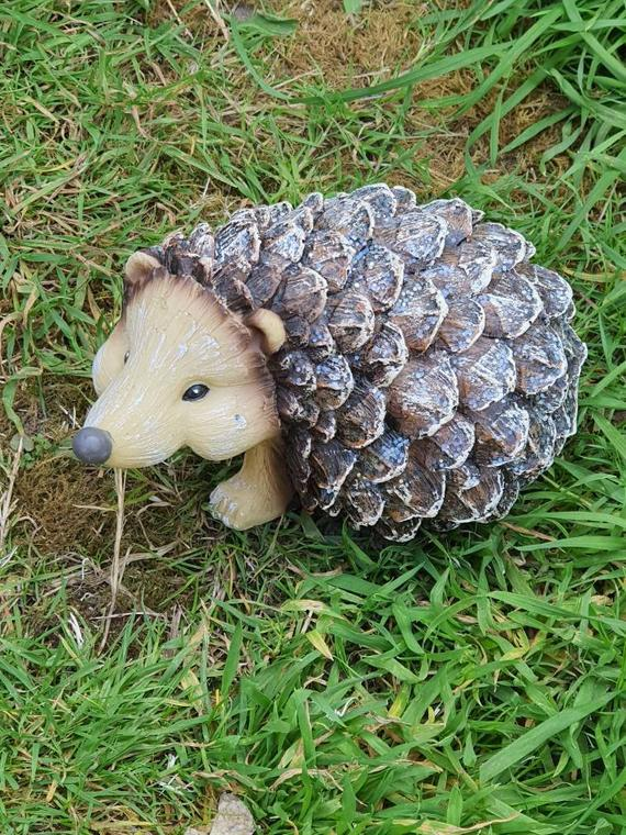 Pinecone Hedgehog Latex Mould to create this Cute Hedgehog | Etsy