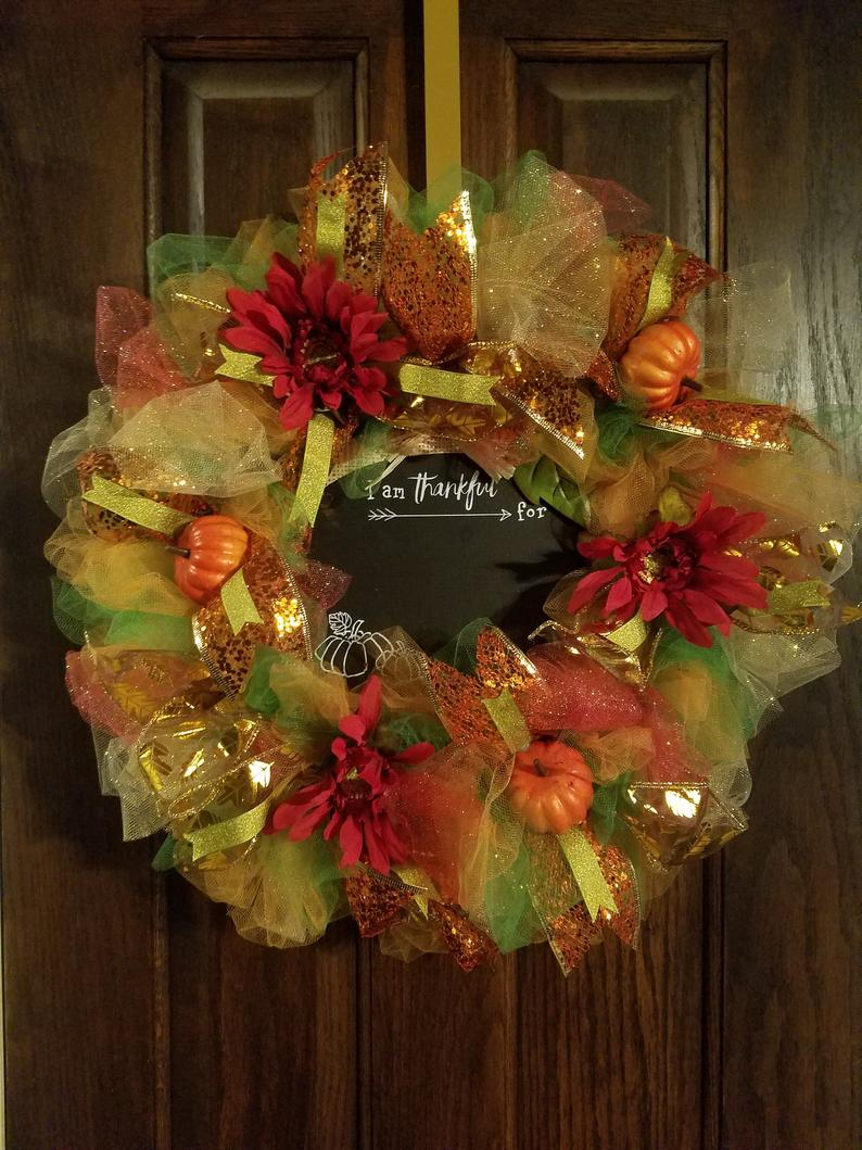 Fall/Thanksgiving Wreath