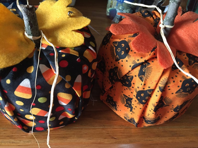 tp roll cover, toilet paper roll cover, tp roll fabric pumpkin