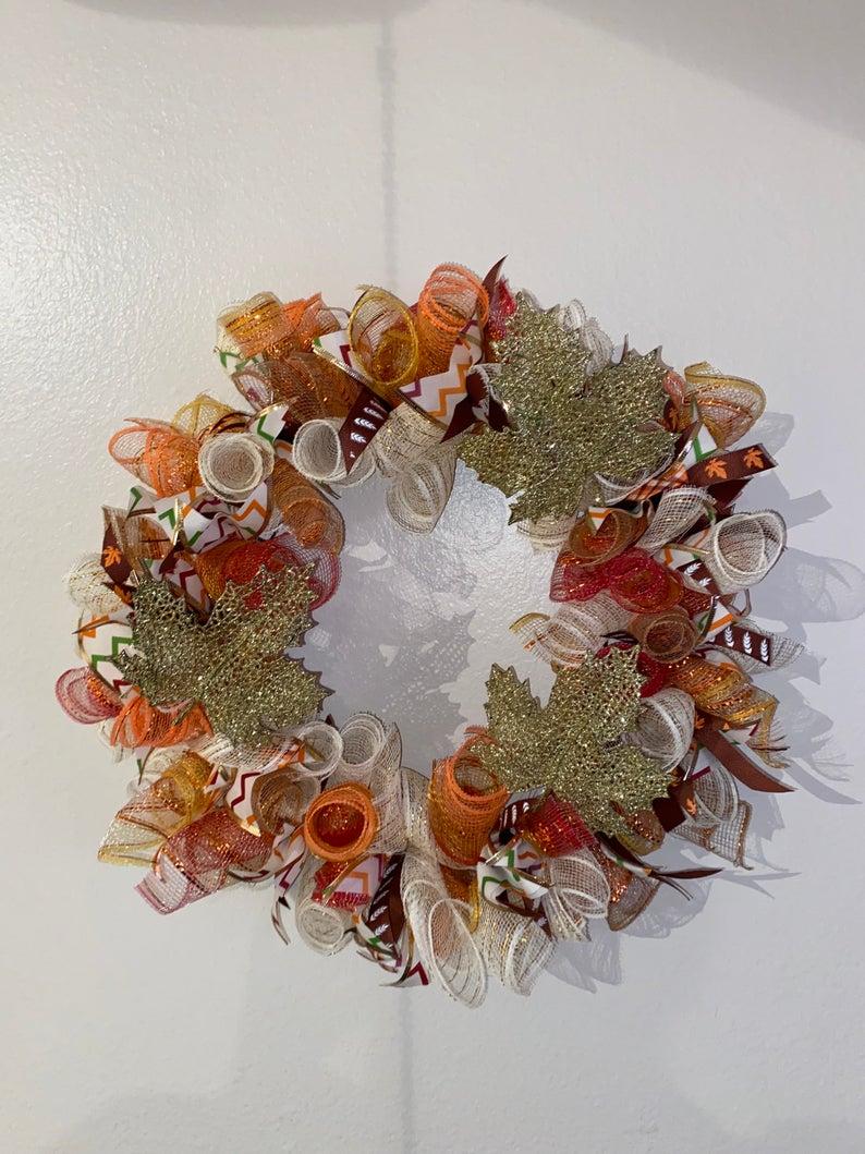 Fall/Thanksgiving Wreath