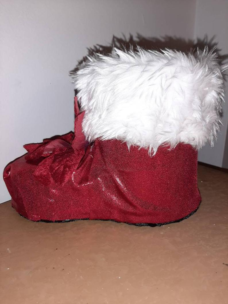 Handmade Christmas boot with love and passion