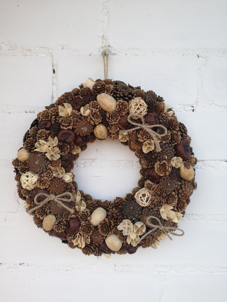 Fall Wreath, Natural Wreath