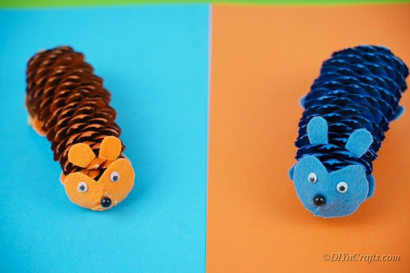 craft critters handmade pinecone activity