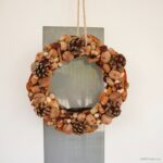 Rustic Autumn Wreath With Natural Elements