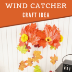 Fall wind catcher hanging up