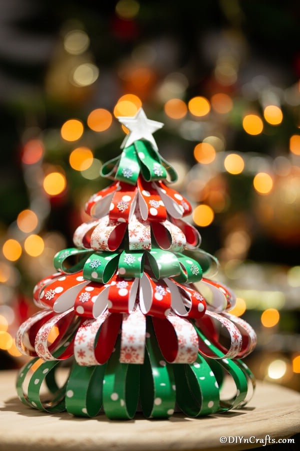 Paper mini Christmas tree