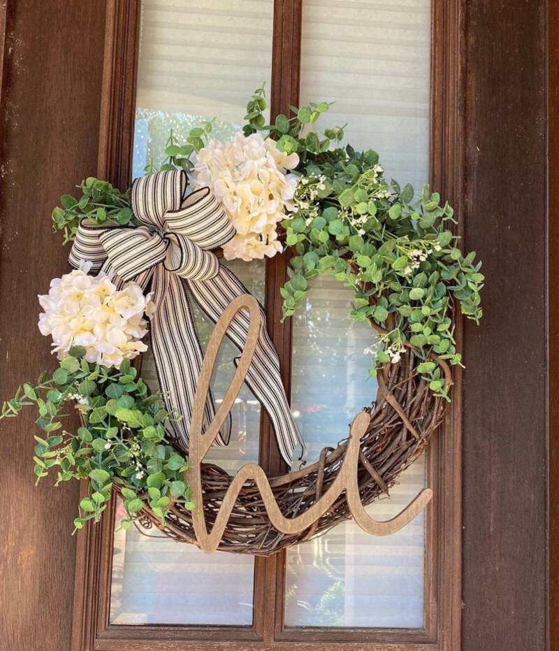 Flowarl hi wreath