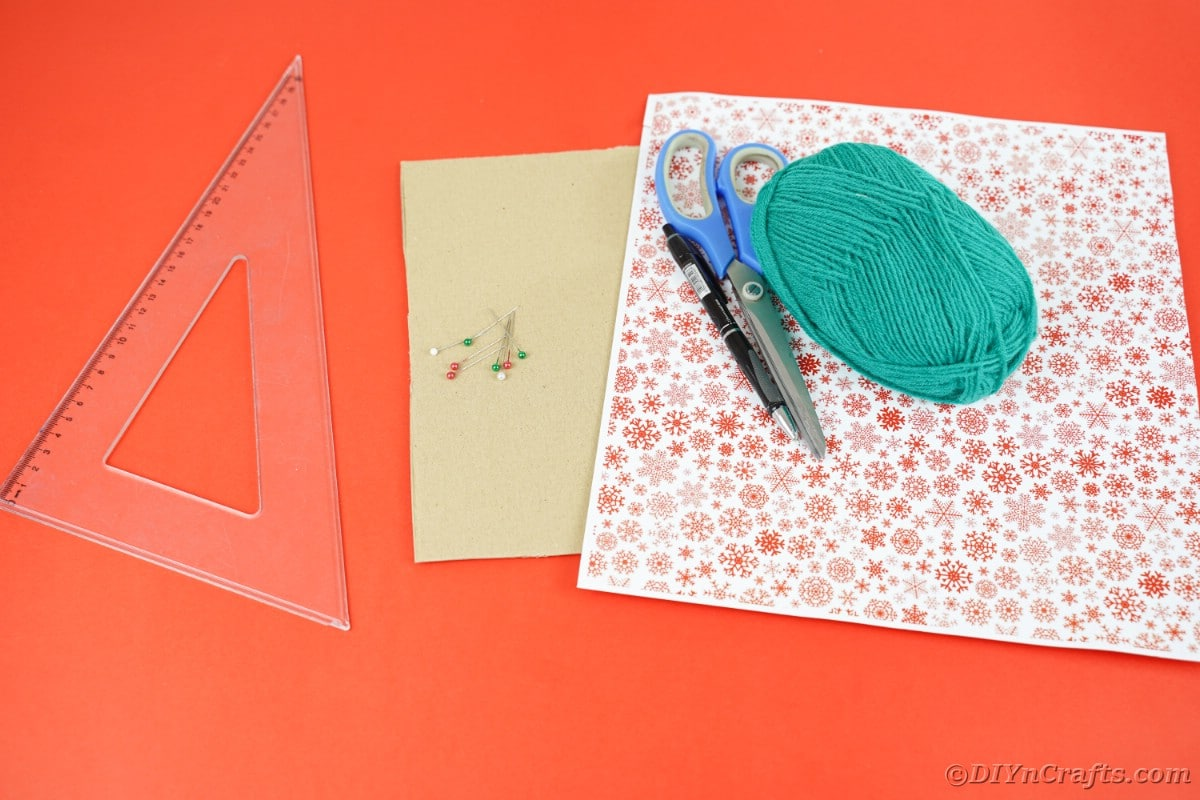 Supplies for yarn star