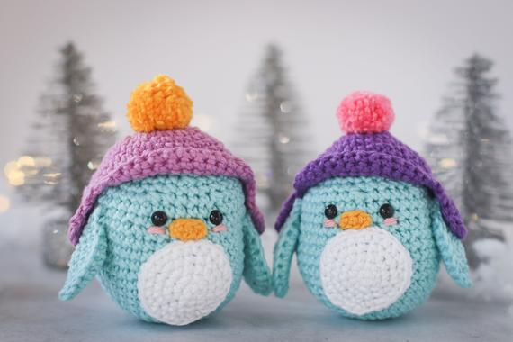 Crochet penguin amigurumi PDF pattern Christmas crochet | Etsy