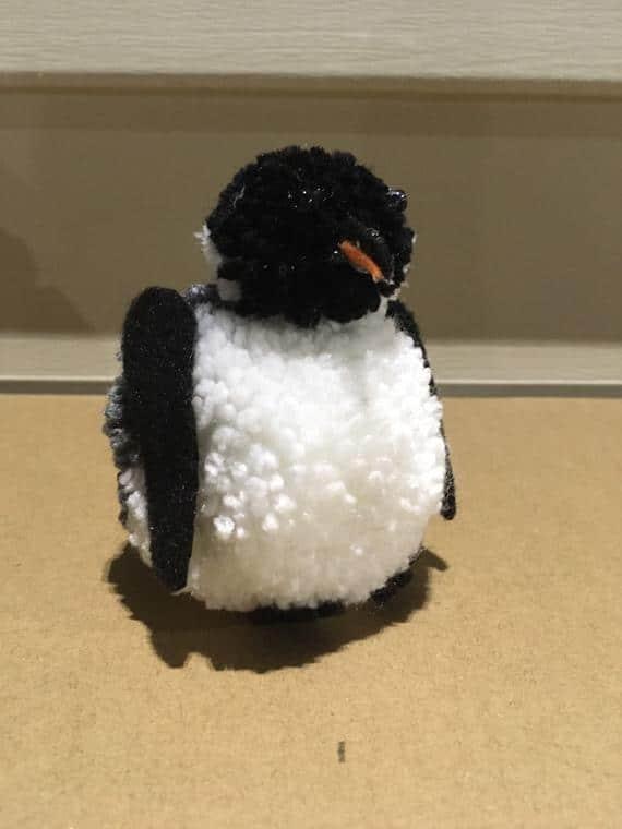 Pom Pom Emperor Penguin | Etsy