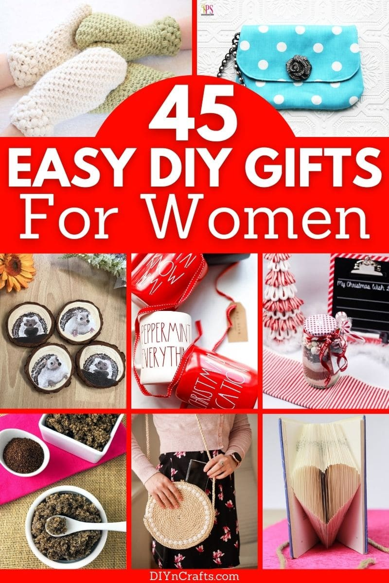 DIY gift ideas for women c