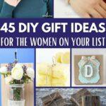 DIY gift ideas for women c