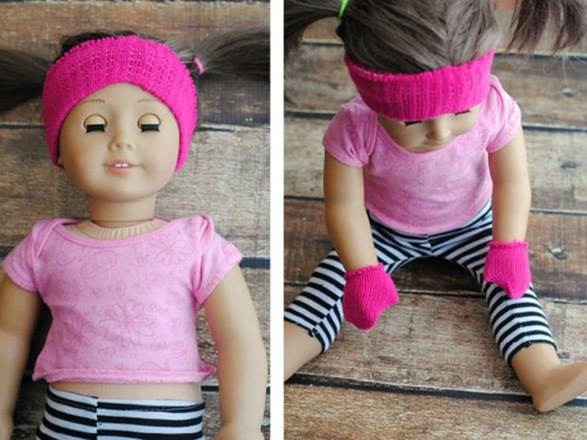 American Girl headband