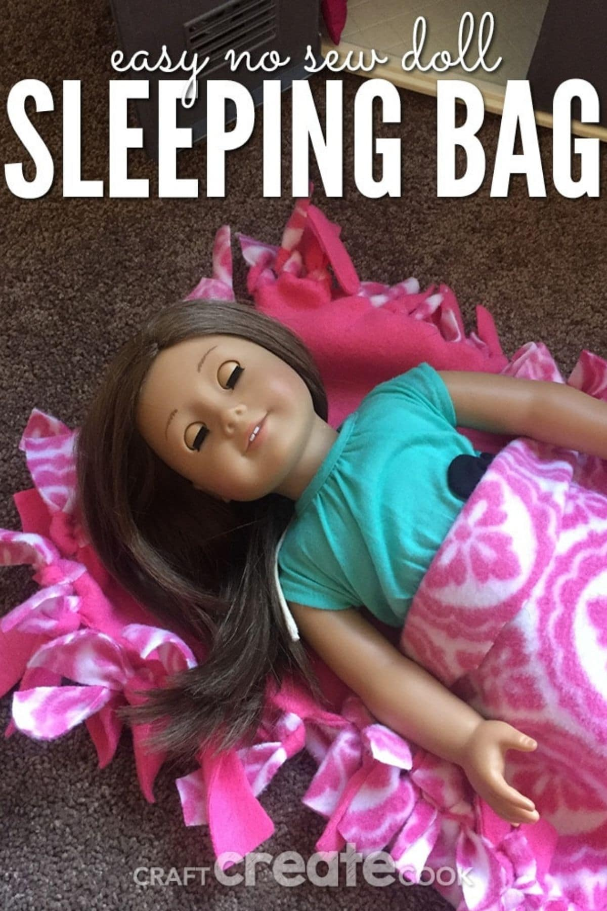 American Girl sleeping bag