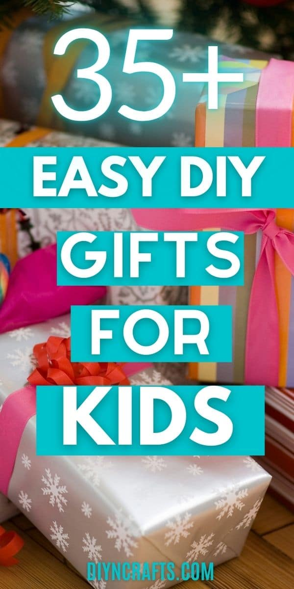 DIY kids gifts collage