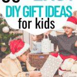 DIY kids gifts collage
