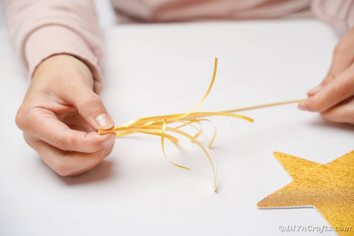 Making ribbon