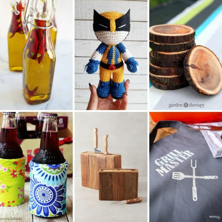 DIY gifts for men collage