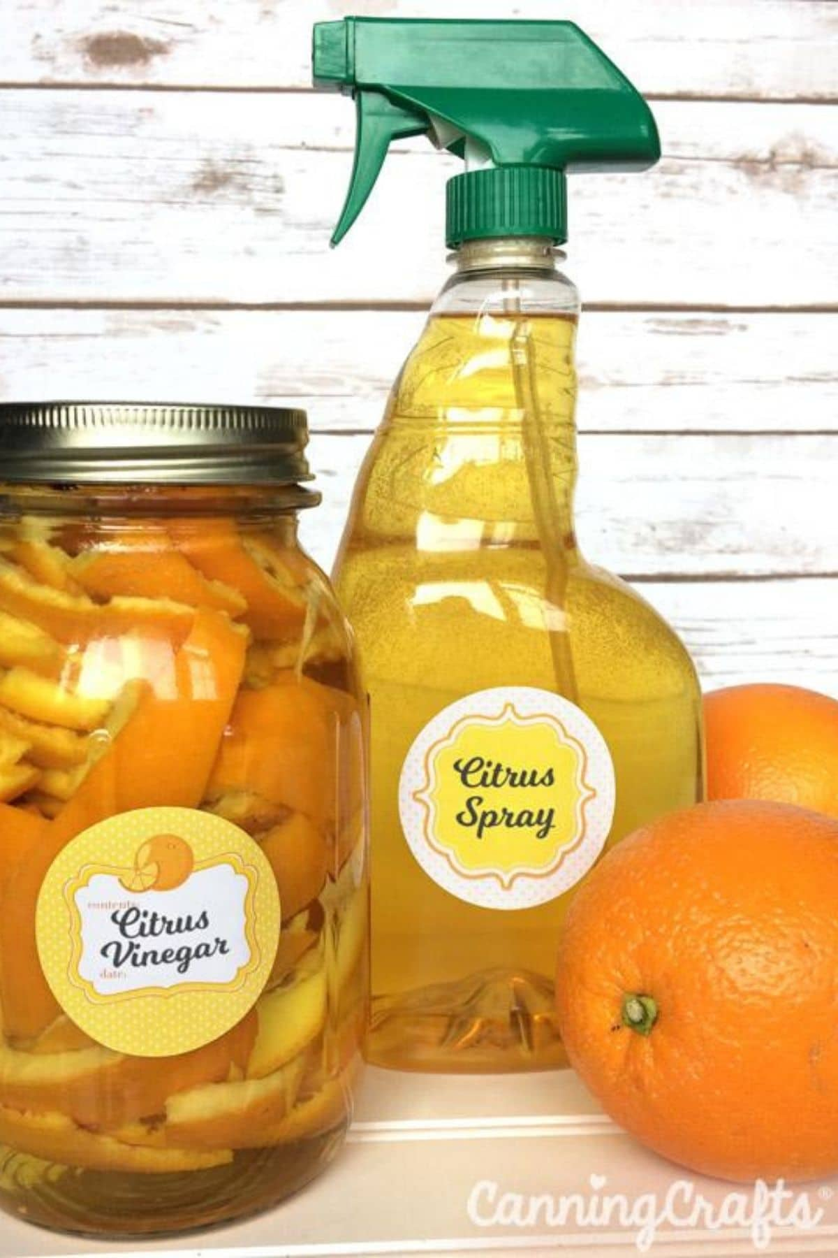 Orange peel spray