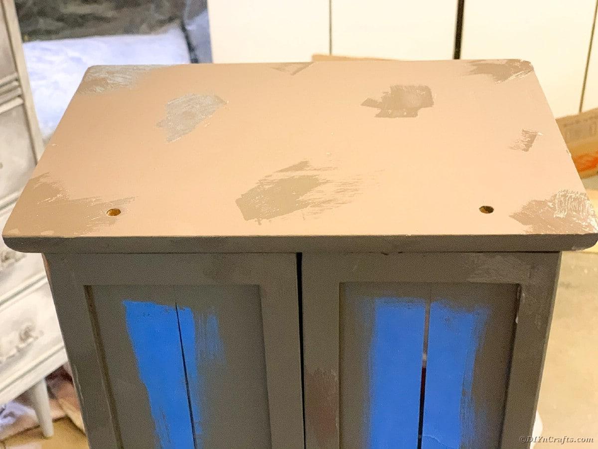 Sanding cabinet
