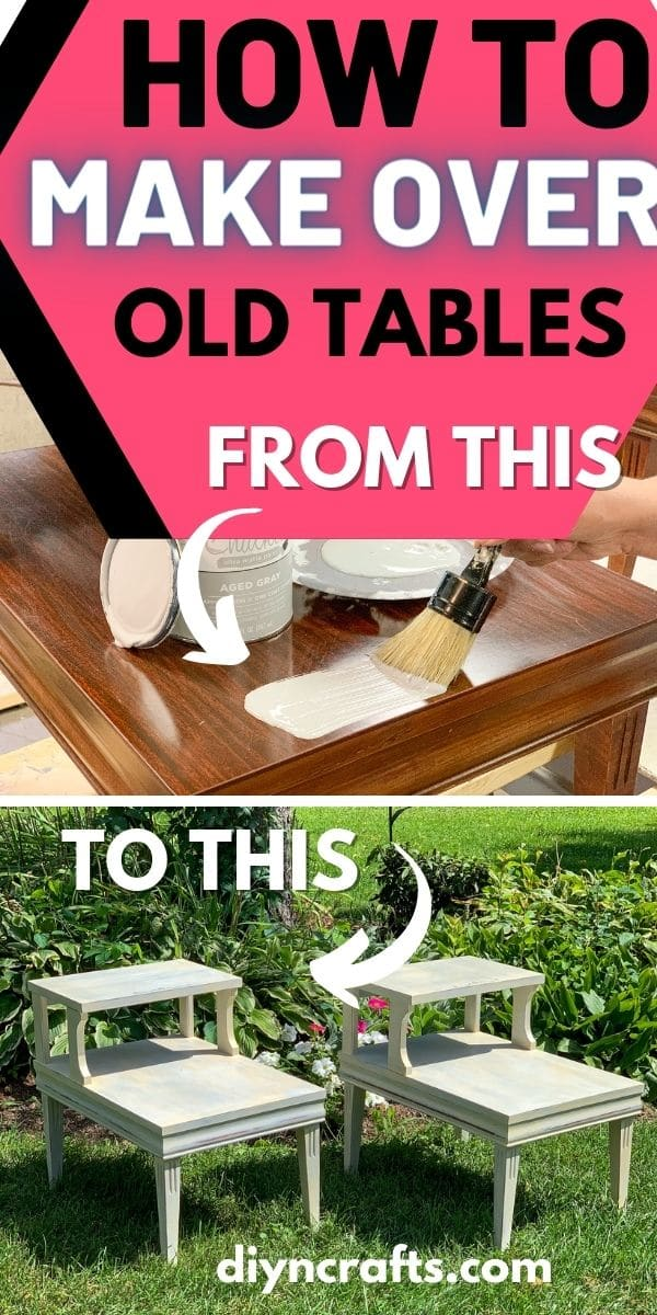 End table collage