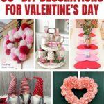 Valentines decorations collage