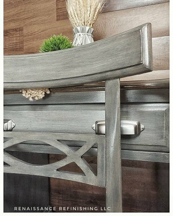 Rustic weathered farmhouse desk set | Etsy