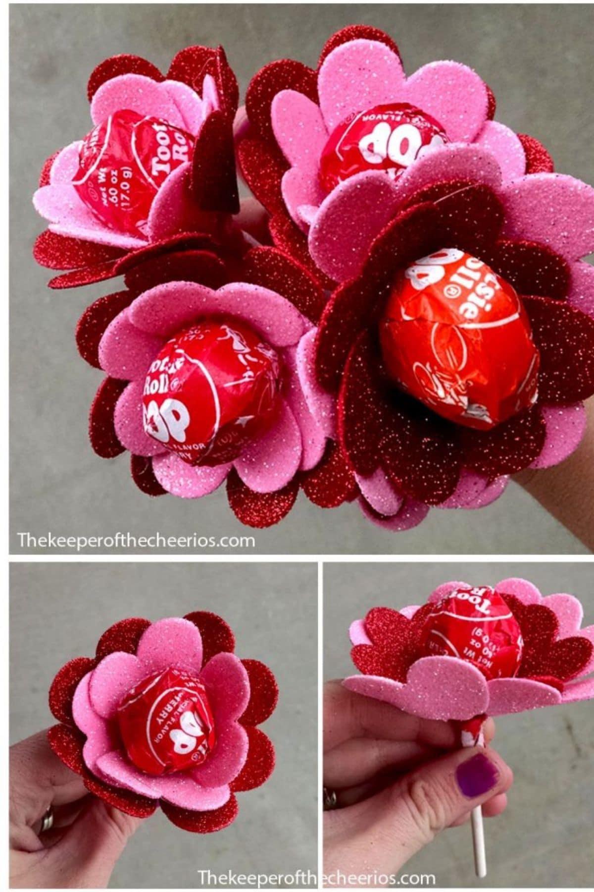 Tootisie pop roses