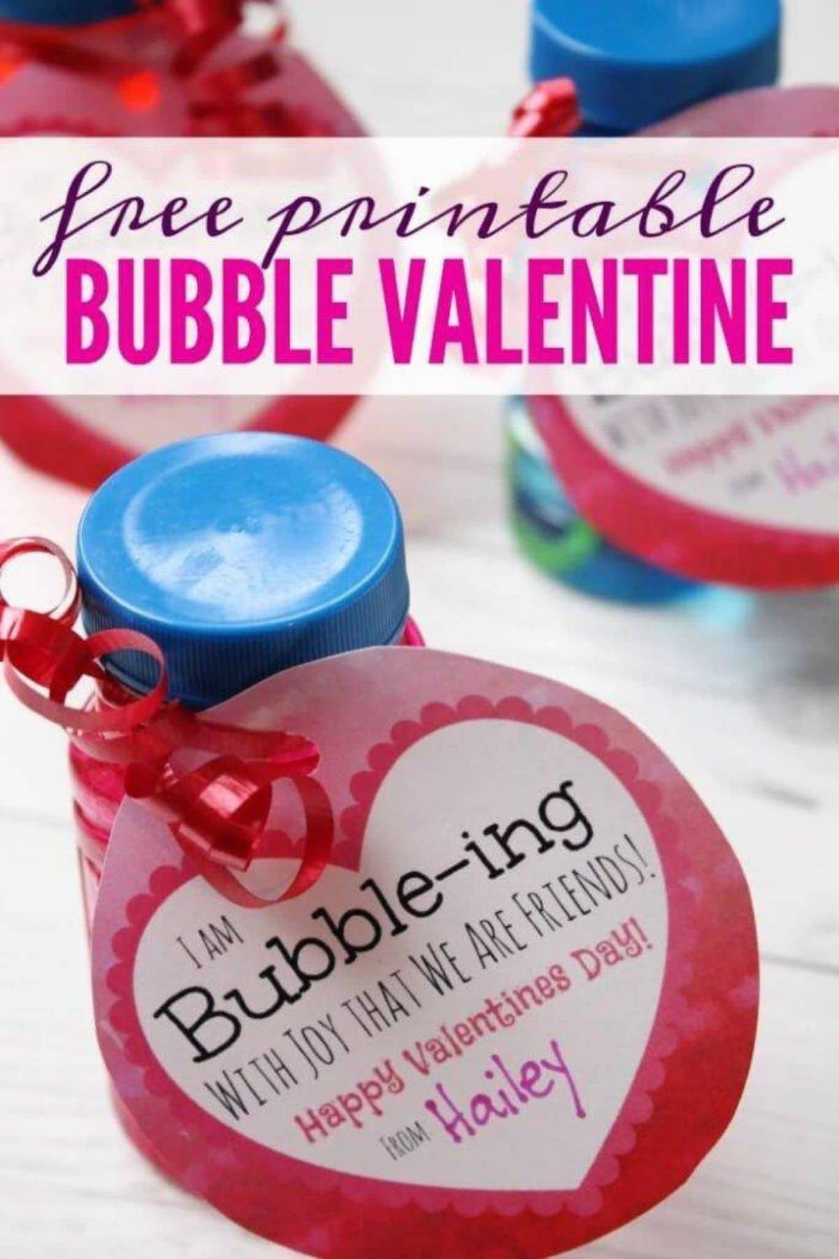 Bubble valentine