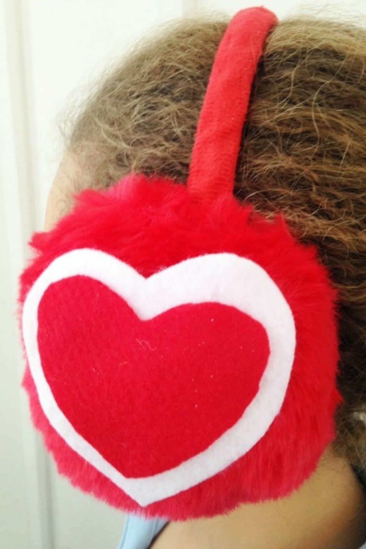 Heart ear muffs