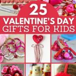 Valentines kids gifts collage