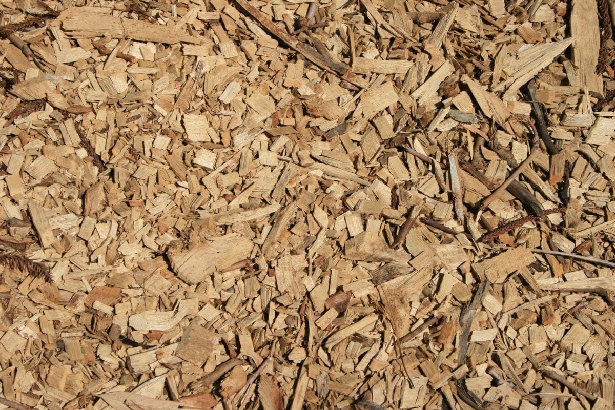 wood chips for mulching