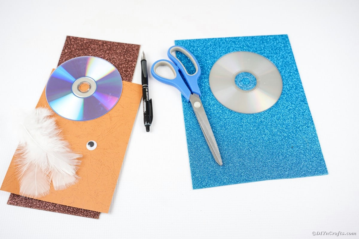 Supplies for CD animals