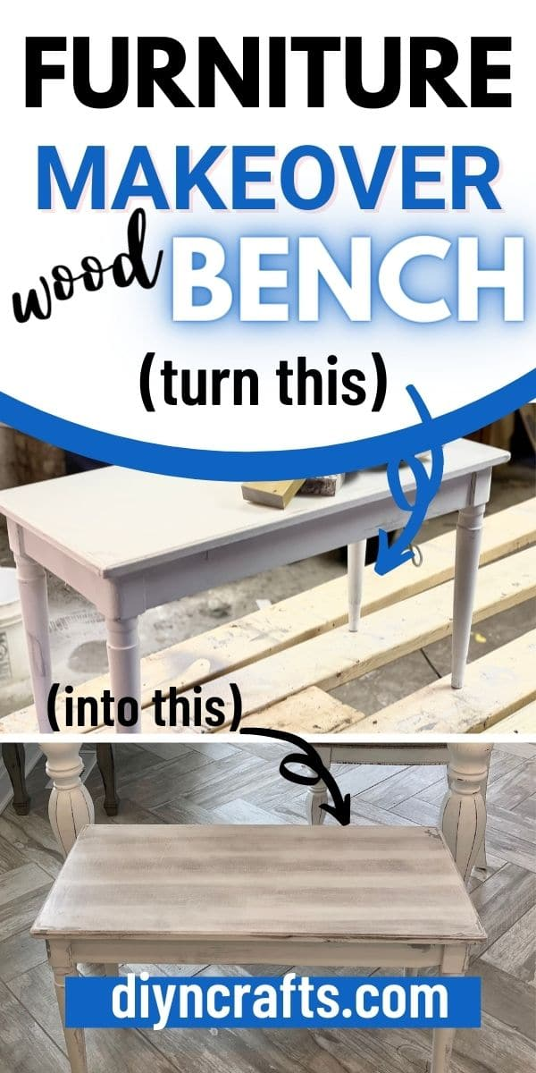 Furniture makeover collage image