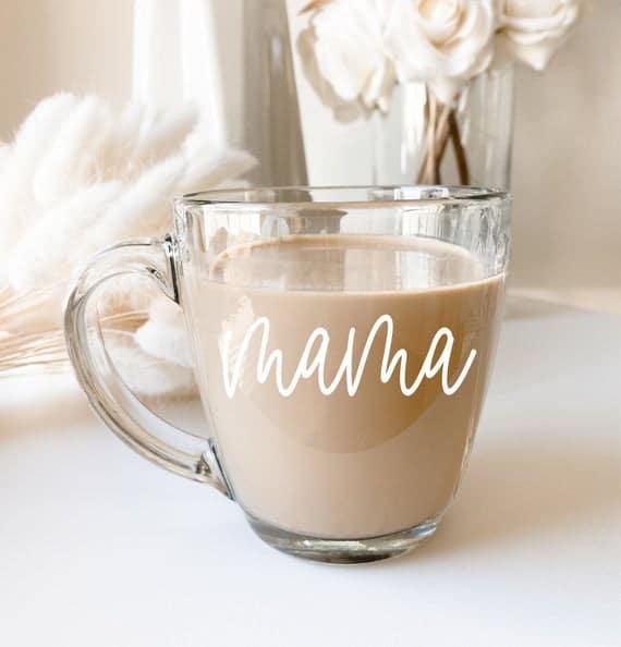 Mama Mug Mama Coffee Mug Mother's Day Coffee Mug for New | Etsy