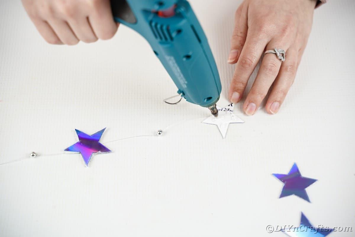 Adding lue to star
