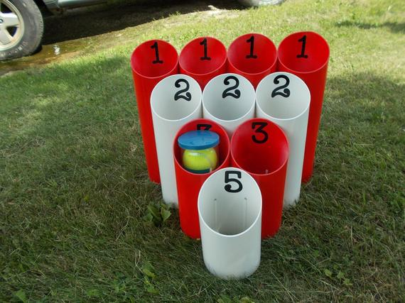 Pipe Ball-Yard Game-Outdoor Game-Family Game-Team Game-Lawn | Etsy