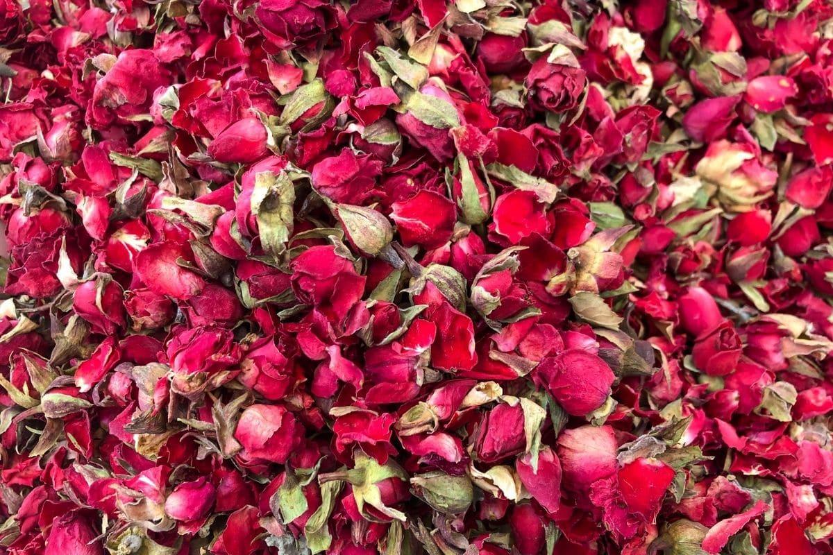 dried Rose bulbs