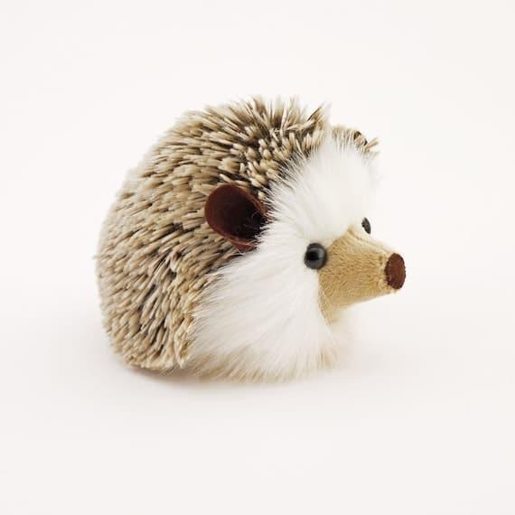 Stuffed Hedgehog Stuffed Animal Sebastian the Plush Toy Brown | Etsy