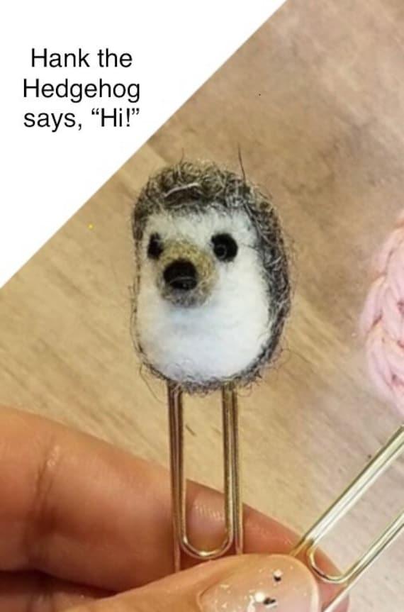 Hank the Hedgehog Clip | Etsy