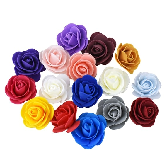 Craft Foam Roses 1-3/4-Inch 12-Count | Etsy