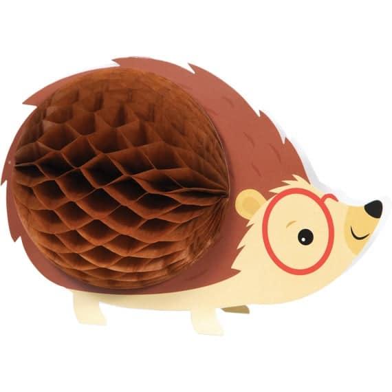 Hedgehog Party Centerpiece Hedgehog Birthday Woodland | Etsy