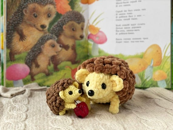 Crochet Pattern Hedgehog / Crochet PATTERN plush toy /   Etsy