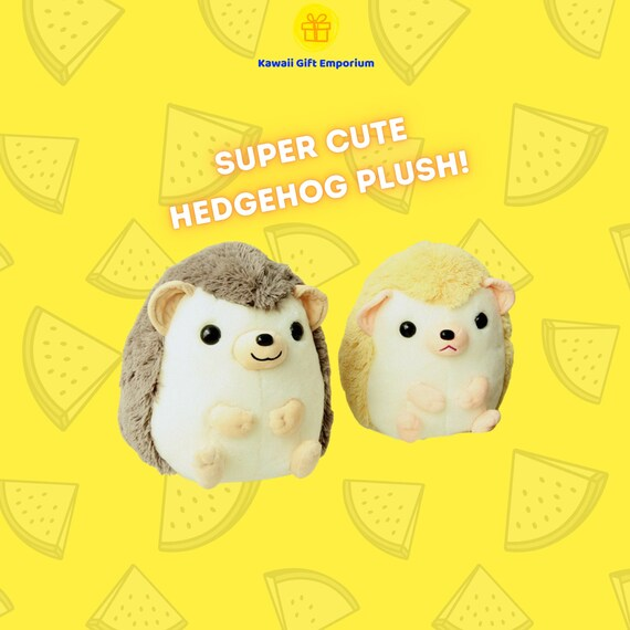 Hedgehog Plush Cute Animal Plushie Stuffed Soft Toy | Etsy