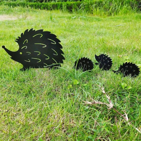 Garden wrought iron decoration creative garden landscape | Etsy